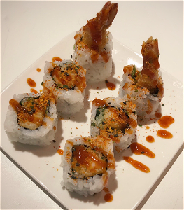 Foto Vuur dragon roll