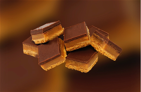 Foto Mini Caramel Shortbread